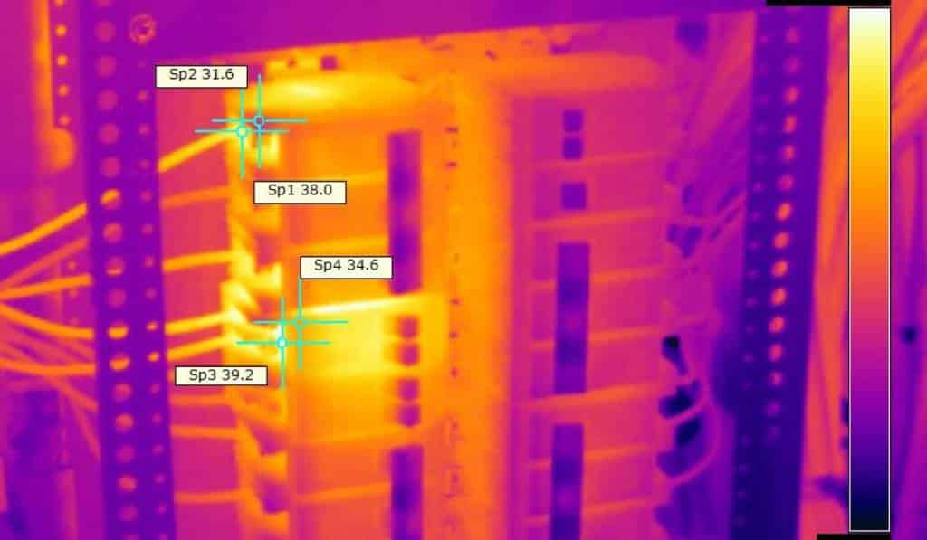 Infrared Inspections on Electrical Systems